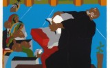 Jacob Lawrence, And God Created the Day and the Night and Put Stars in the Sky (1990)