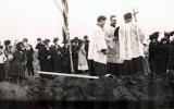Groundbreaking and blessing at the site of St. Ignatius Church