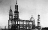 Historic images of the erection of St. Ignatius Church