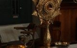 The Church's Sacristan gives an in depth tour of ritual objects used at St. Ignatius Church
