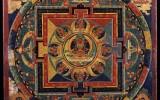 19th Mandala portraying the pure realm of Amithaba (Amitayus). Rubin Museum, New York.